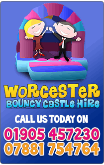 Worcester Bouncy Castle Hire - Call on 01905 422 864 or 07781 754 764